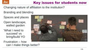 Key issues slide