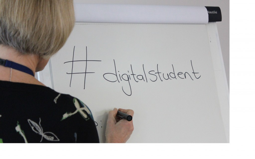 Join the conversation via the #digitalstudent hashtag