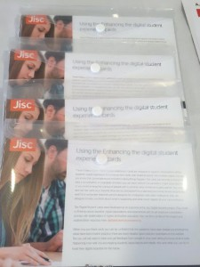 Enhancing the student digital experience postcards