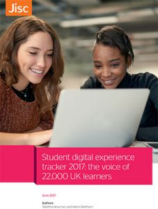Student digital experience tracker 2017: the voice of 22,000 learners